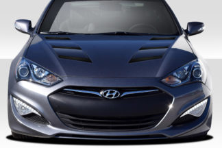 2013-2016 Hyundai Genesis Coupe 2DR Duraflex AM-S Hood - 1 Piece