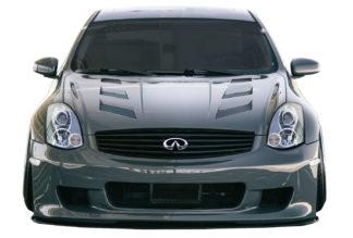 2003-2007 Infiniti G Coupe G35 Duraflex AM-S Hood - 1 Piece