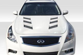2007-2013 Infiniti G Sedan G25 G35 G37 / Q40 Duraflex AM-S Hood - 1 Piece