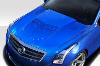2013-2019 Cadillac ATS Duraflex AC-1 Hood - 1 Piece