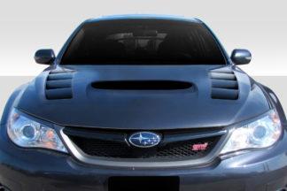 2008-2011 Subaru Impreza 2008-2014 WRX STI Duraflex VR-S Hood - 1 Piece