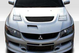 2003-2006 Mitsubishi Lancer Evolution 8 9 Duraflex C-1 Hood - 1 Piece