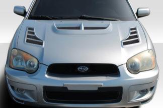 2004-2005 Subaru Impreza WRX STI Duraflex C-1 Hood - 1 Piece