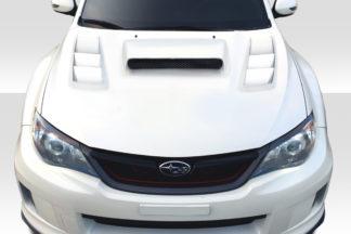 2008-2011 Subaru Impreza 2008-2014 WRX STI Duraflex C-1 Hood - 1 Piece