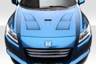 2011-2016 Honda CR-Z Duraflex AM-S Hood - 1 Piece