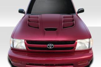 1995-2000 Toyota Tacoma Duraflex Viper Look Hood - 1 Piece