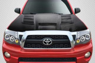 2005-2011 Toyota Tacoma Carbon Creations Viper Hood - 1 Piece