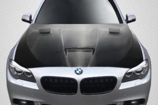 2011-2016 BMW 5 Series F10 4DR Carbon Creations DriTech Craze Hood - 1 Piece