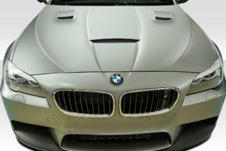 2011-2016 BMW 5 Series F10 4DR Duraflex Craze Hood - 1 Piece