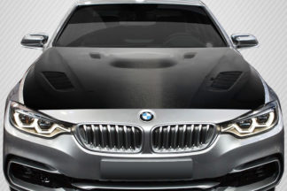 2012-2018 BMW 3 Series F30 / 2014-2018 4 Series F32 Carbon Creations DriTech Victory Hood - 1 Piece