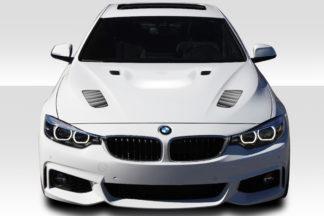 2012-2018 BMW 3 Series F30 / 2014-2018 4 Series F32 Duraflex Victory Hood - 1 Piece