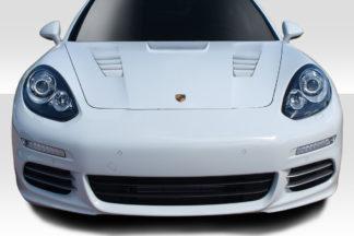 2010-2015 Porsche Panamera Duraflex Eros Version 2 Hood - 1 Piece