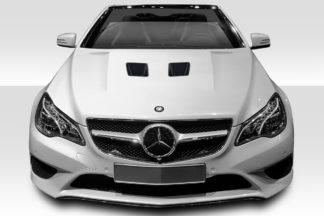 2010-2013 Mercedes E Class C207 2DR A207 Convertible Duraflex Black Series Look Hood - 1 Piece