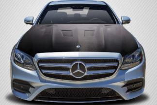 2014-2016 Mercedes E Class W212 Carbon Creations DriTech Black Series Look Hood - 1 Piece