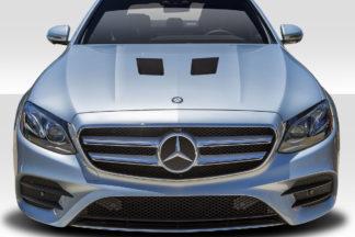 2014-2016 Mercedes E Class W212 Duraflex Black Series Look Hood - 1 Piece