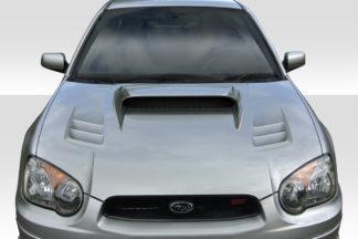 2004-2005 Subaru Impreza WRX STI Duraflex TS-1 Hood - 1 Piece