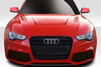 2013-2016 Audi A5 B8 Duraflex Eros Version 1 Hood - 1 Piece