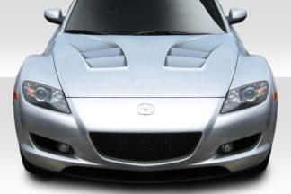 2004-2008 Mazda RX-8 Duraflex Remix Hood - 1 Piece
