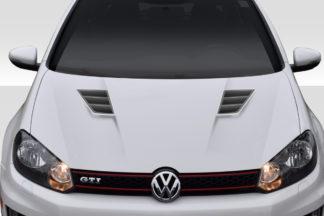 2010-2014 Volkswagen Golf GTI / Jetta Sportwagen Duraflex Regulator Hood - 1 Piece