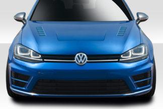 2015-2019 Volkswagen Golf Duraflex Element Hood - 1 Piece