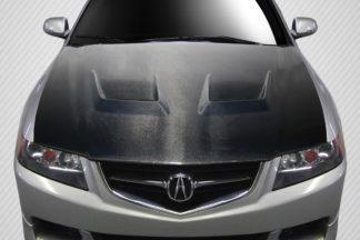 2004-2005 Acura TSX Carbon Creations DriTech Jupiter Hood - 1 Piece