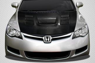 2006-2011 JDM Honda Civic 4DR Carbon Creations DriTech Supremo Hood - 1 Piece