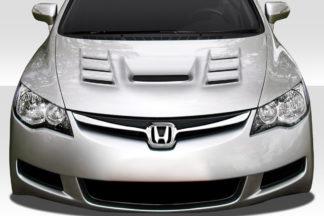 2006-2011 JDM Honda Civic 4DR Duraflex Supremo Hood - 1 Piece