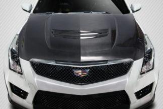 2016-2019 Cadillac ATS-V Carbon Creations DriTech OEM Hood - 1 Piece