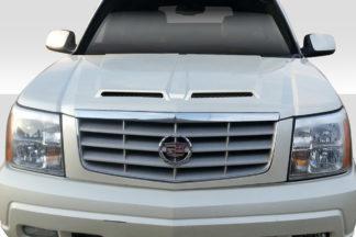 2002-2006 Cadillac Escalade Duraflex Ram Air Hood - 1 Piece