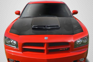 2006-2010 Dodge Charger Carbon Creations TA Look Hood - 1 Piece