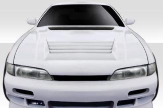 1995-1996 Nissan 240SX S14 Duraflex D-Spec Hood - 1 Piece