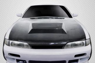 1995-1996 Nissan 240SX S14 Carbon Creations D-Spec Hood - 1 Piece