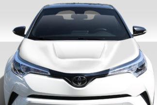2018-2019 Toyota C-HR Duraflex Circuit Hood - 1 Piece