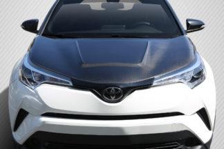 2018-2019 Toyota C-HR Carbon Creations Circuit Hood - 1 Piece