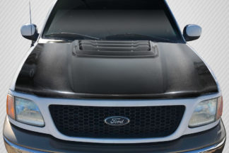 1997-2003 Ford F-150 Carbon Creations Raptor Look Hood - 1 Piece