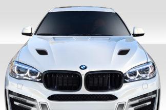 2015-2019 BMW X6 F16 / X6M F86 AF-1 Hood ( GFK ) - 1 Piece