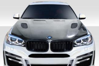 2015-2019 BMW X6 F16 / X6M F86 AF-1 Hood ( CFP ) - 1 Piece