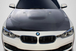 2012-2018 BMW 3 Series F30 / 2014-2018 4 Series F32 Carbon Creations M3 Style Hood - 1 Piece