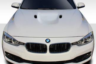 2012-2018 BMW 3 Series F30 / 2014-2018 BMW 4 Series F32 Duraflex M3 Look Hood - 1 Piece