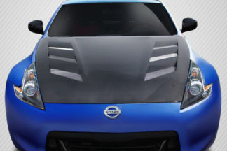 2009-2019 Nissan 370Z Z34 Carbon Creations AMS Hood - 1 Piece