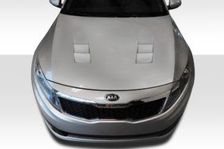 2011-2015 Kia Optima Duraflex TS-1 Hood - 1 Piece