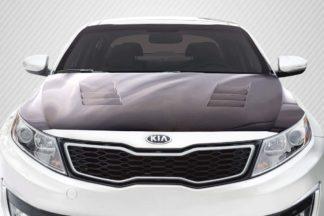 2011-2015 Kia Optima Carbon Creations TS-1 Hood - 1 Piece