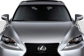 2014-2016 Lexus IS Series IS350 IS250 Duraflex Bolt Hood - 1 Piece