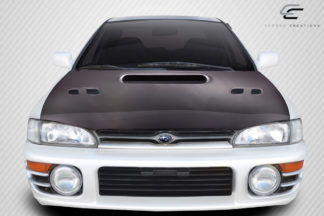 1993-2001 Subaru Impreza Carbon Creations STI Look Hood - 1 Piece