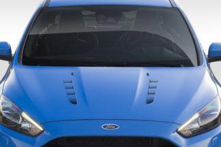 2016-2018 Ford Focus Duraflex RS Look Hood - 1 Piece