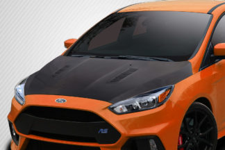 2016-2018 Ford Focus Carbon Creations RS Look Hood - 1 Piece