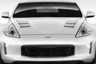 2009-2019 Nissan 370Z Z34 Duraflex TS-1 Hood - 1 Piece