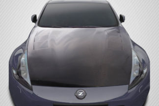 2009-2019 Nissan 370Z Z34 Carbon Creations TS-1 Hood - 1 Piece