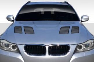 2009-2011 BMW 3 Series E90 Duraflex GTR Hood - 1 Piece