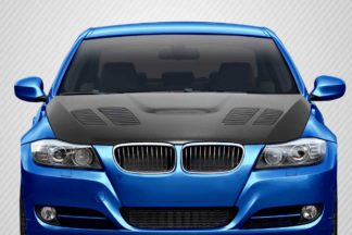 2009-2011 BMW 3 Series E90 Carbon Creations GTR Hood - 1 Piece